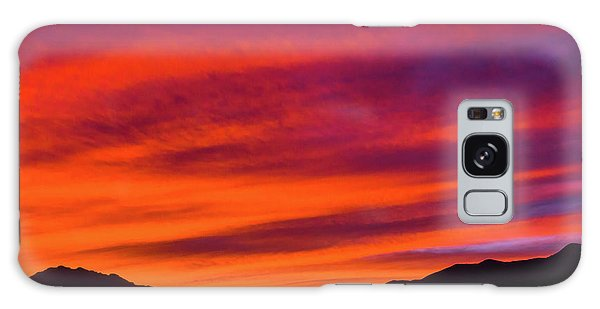 Galaxy Case featuring the photograph Mount Franklin Purple Sunset by SR Green