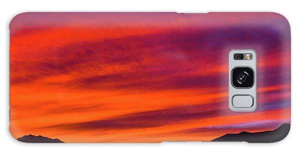Mount Franklin Purple Sunset Galaxy Case