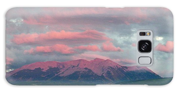Mount Gunnison Sunset In Colorado Galaxy Case