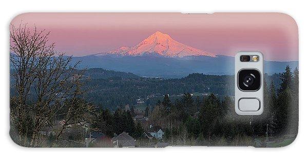 Galaxy Case - Mount Hood Over Happy Valley Oregon by David Gn