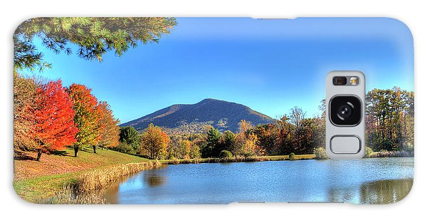 Mount Jefferson Reflection Galaxy Case by Dale R Carlson