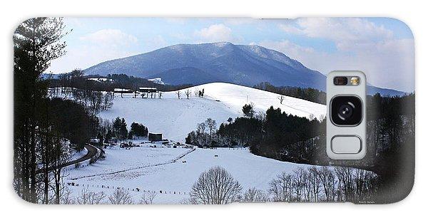 Mount Jefferson Winter Galaxy Case by Dale R Carlson