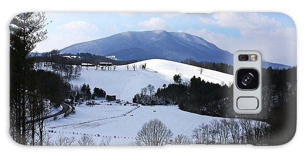 Mount Jefferson Winter Galaxy Case