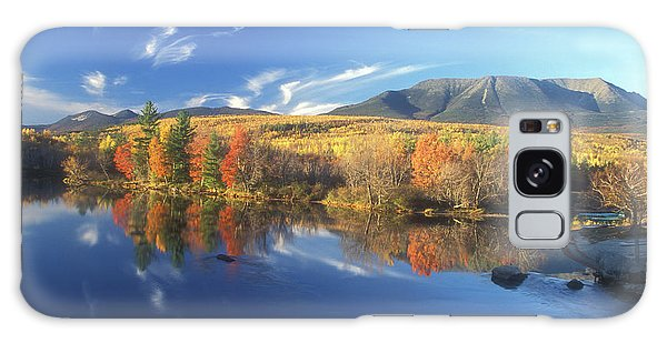 Mount Katahdin From Abol Bridge Galaxy Case by John Burk