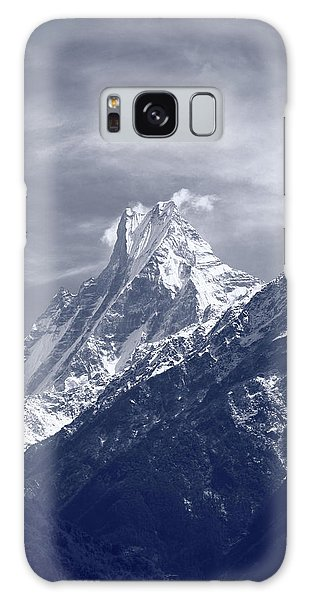 Mount Machapuchare, The Himalayas, Nepal Galaxy Case