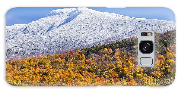 Mount Mansfield Seasonal Transition Galaxy Case