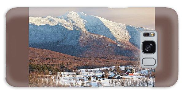 Mount Mansfield Winter Afternoon Galaxy Case