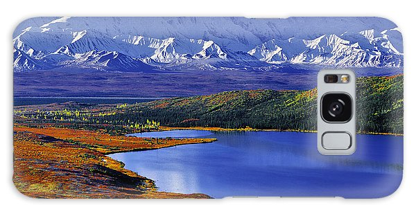 Denali Galaxy Case - Mount Mckinley And Wonder Lake Campground In The Fall by Tim Rayburn