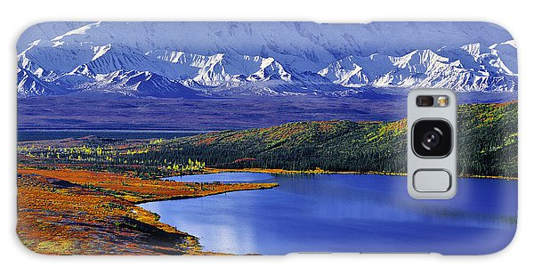 Mount Mckinley And Wonder Lake Campground In The Fall Galaxy Case