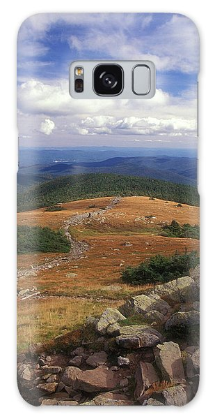 Mount Moosilauke Summit Galaxy Case by John Burk