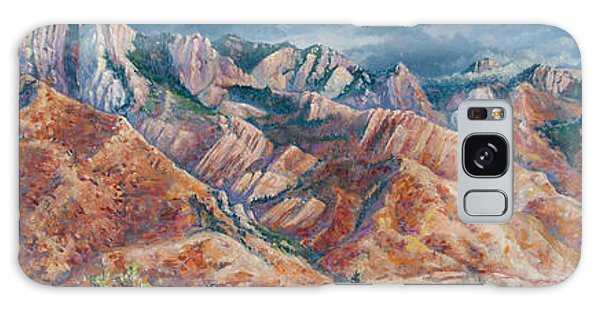 Mount Olympus In Autumn  Galaxy Case