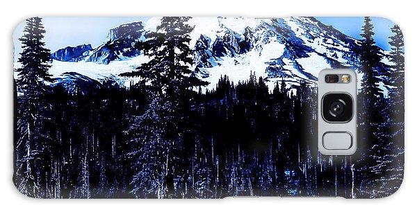 Mount Rainier Blue... Galaxy Case by Eddie Eastwood
