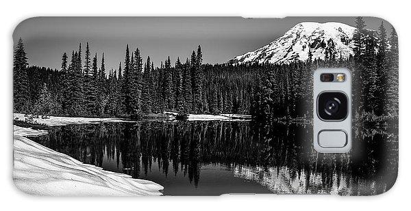 Mount Rainier Reflection Galaxy Case