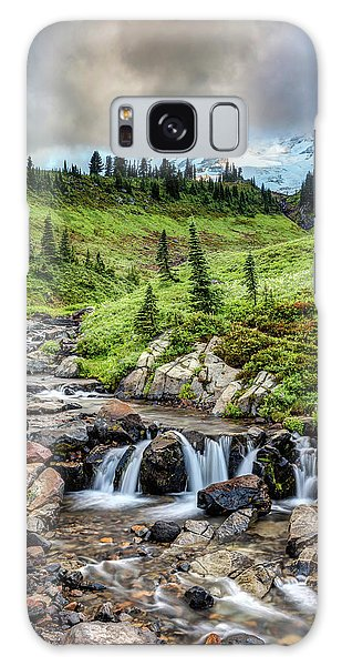 Galaxy Case featuring the photograph Mount Rainier's Edith Creek by Pierre Leclerc Photography