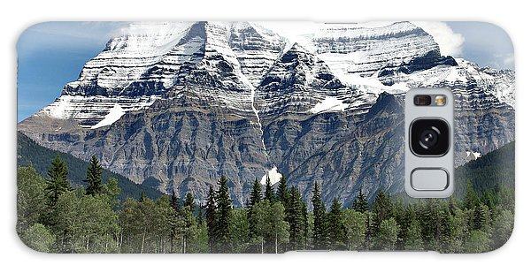 Mount Robson British Columbia Galaxy Case by Elaine Manley