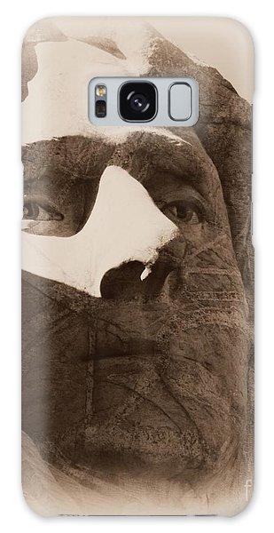 Mount Rushmore Faces Jefferson Galaxy Case