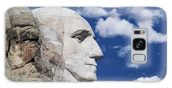 National Monument Galaxy Case - Mount Rushmore Profile Of George Washington by Tom Mc Nemar