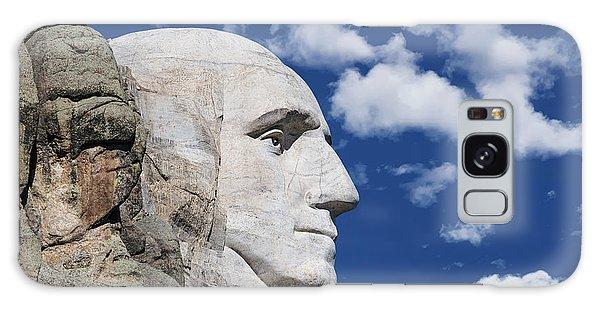 Mount Rushmore Profile Of George Washington Galaxy Case