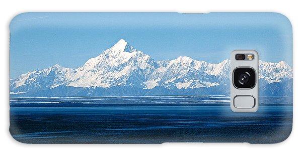 Mount Saint Elias. Yakutat Bay Seascapes Galaxy Case