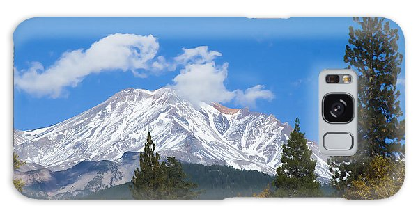 Mount Shasta California Galaxy Case
