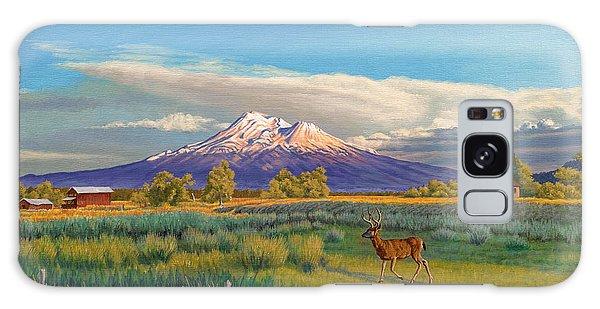 California Galaxy Case - Mount Shasta by Paul Krapf