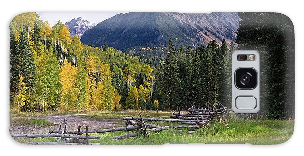 Mount Sneffels In Autumnn Galaxy Case
