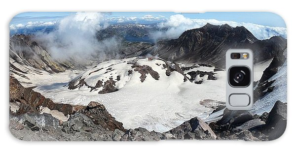 Mount St Helens Crater Galaxy Case