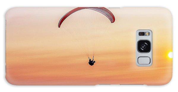 Mount Tom Parachute Galaxy Case