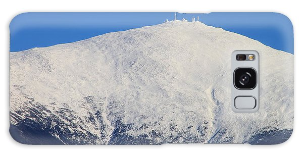 Mount Washington Summit And Weather Observatory Galaxy Case by John Burk