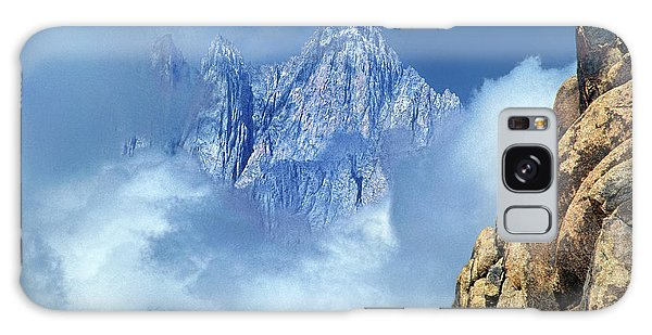 Mount Whitney Clearing Storm Eastern Sierras California Galaxy Case
