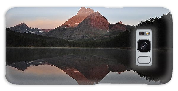 Mount Wilbur, Glacier National Park Galaxy Case