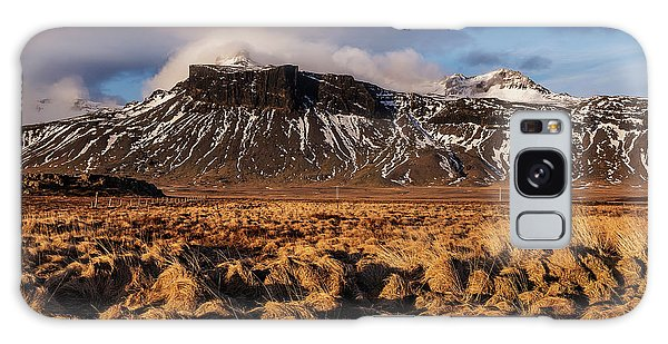Mountain And Land, Iceland Galaxy Case
