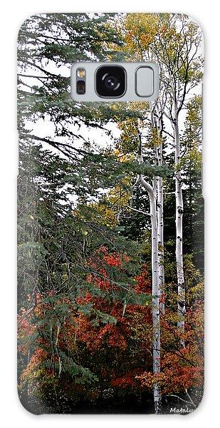 Mountain Autumn Galaxy Case