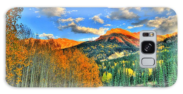 Mountain Beauty Of Fall Galaxy Case by Scott Mahon