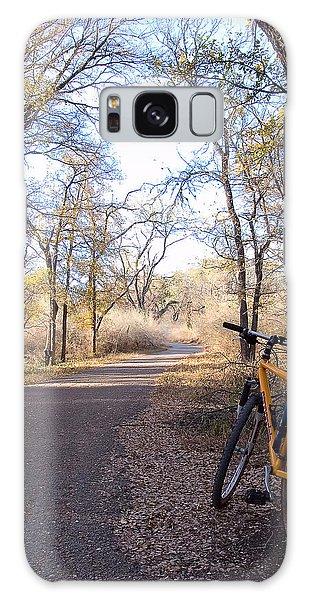 Mountain Bike Trail Galaxy Case