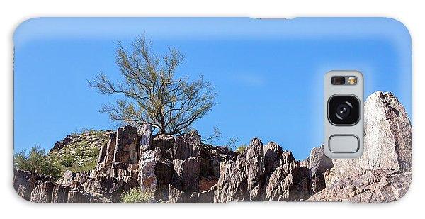 Mountain Bush Galaxy Case by Ed Cilley