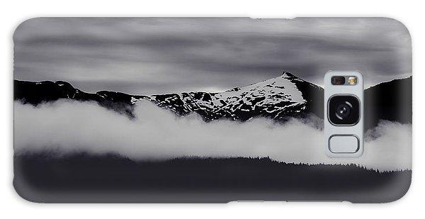 Mountain Contrast Galaxy Case