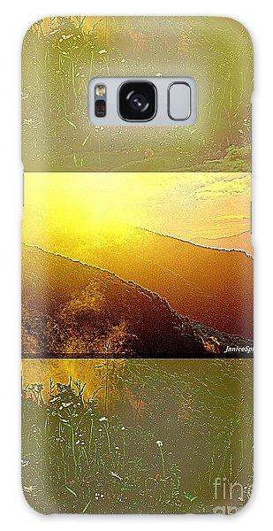 Mountain Days Galaxy Case by Janice Spivey