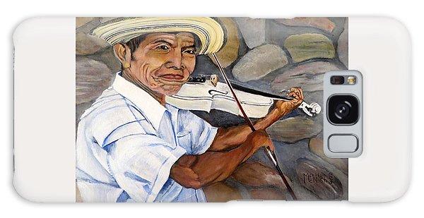Mountain Fiddler Galaxy Case by Marilyn McNish