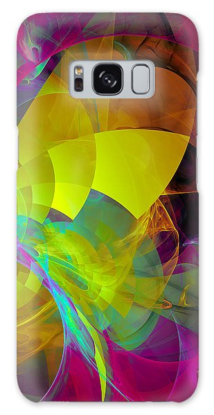 Mountain Flower Galaxy Case