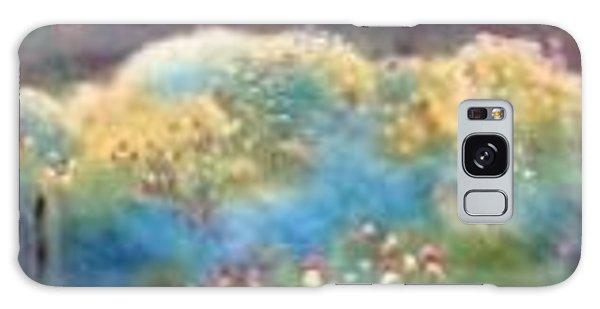 Mountain Flowers Galaxy Case