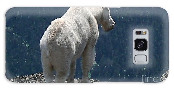 Mountain Goat 2 Galaxy Case by Sean Griffin