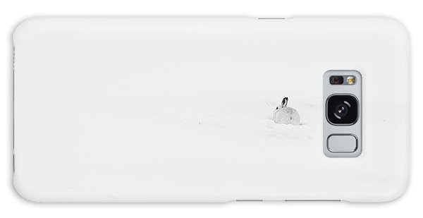 Mountain Hare Small In Frame Right Galaxy Case