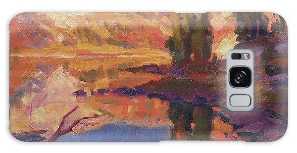 Wilderness Galaxy Case - Mountain Lake by Steve Henderson
