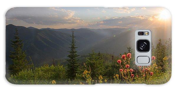 Mountain Light Galaxy Case