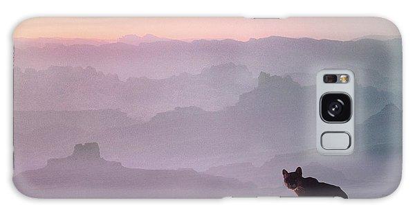 Mountain Lion Galaxy Case by Tim Fitzharris
