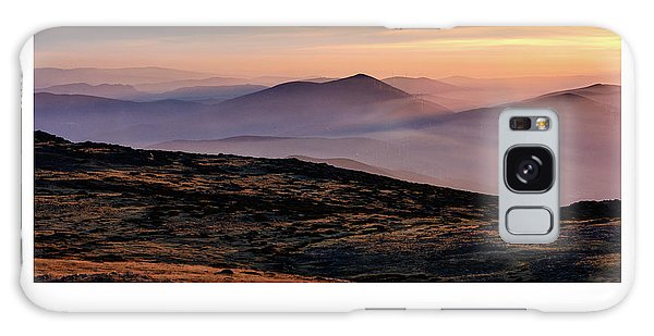 Mountain Mist Poster Galaxy Case