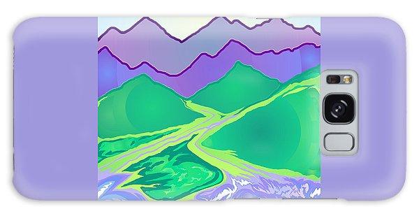 Mountain Murmurs Galaxy Case