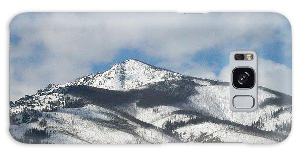 Mountain Peak Galaxy Case by Jewel Hengen