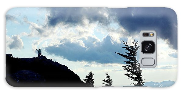 Mountain Peak Galaxy Case